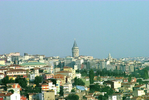 galata tower, istanbul, pentax k10d