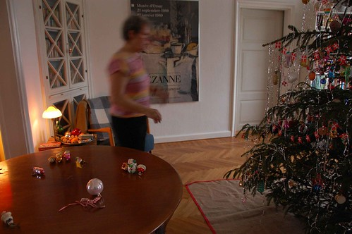 And then it all ended. We took all the decorations down. Sniff.