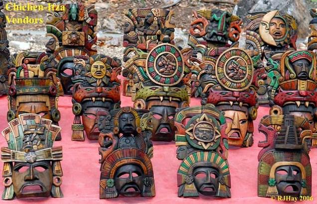 Chichen-Itza-Masks