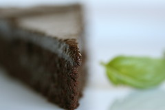 Flourless Chocolate-Basil Torte 1