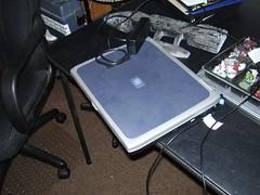 Dead laptop.