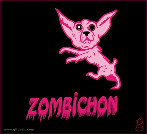 Pet Shock : Zombichon - Design : Gilderic