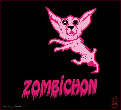 Pet Shock : Zombichon - Design : Gilderic