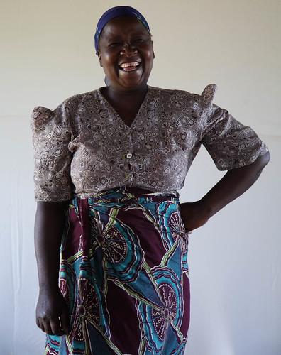 Demetria Solomon: maize farmer of central Malawi