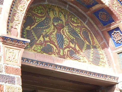 Exterior Peacock Detail