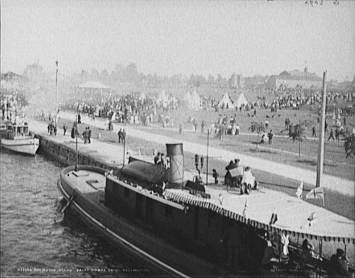 Soo Locks Celebration - 1905