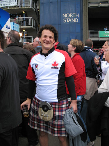 Canadian rugby fan