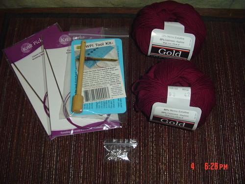 Needles, Markers, MerinoCashmere