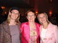 Maria Zatermän, Elizabeth Nostedt and Julia Shilo