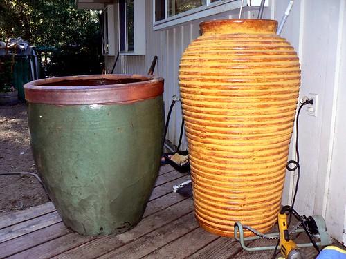 Both pots together