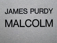 James Purdy, Malcolm, Einaudi 1965: copertina (part.)