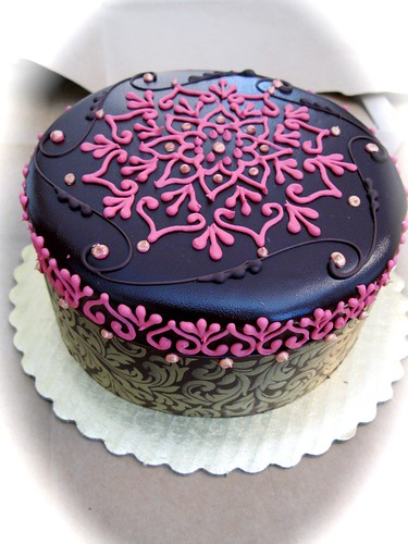 My First Share An Indian Henna Themed Cake  CakeCentralcom