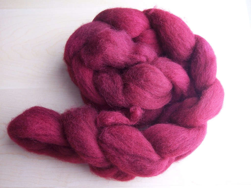 handdyed red #3
