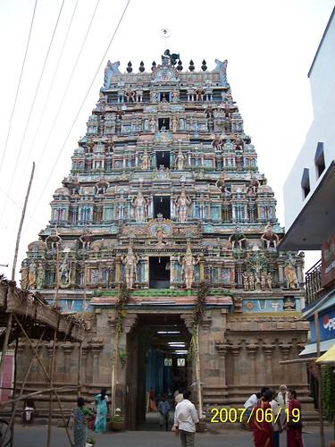 Oppiliyappan Koyil gopuram