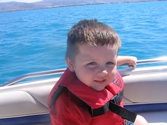 Logan at Bear lake