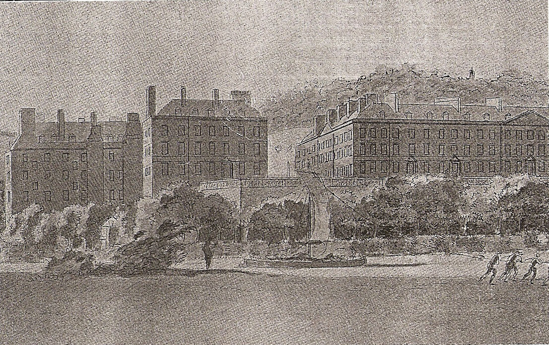 Grotto and N parade.1772