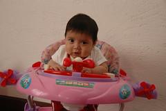 In Eliana's Pink Walker