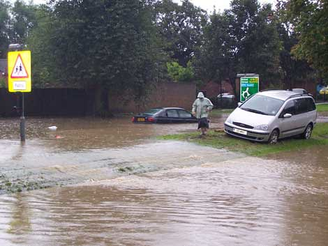 Eastern Avenue, Floods
