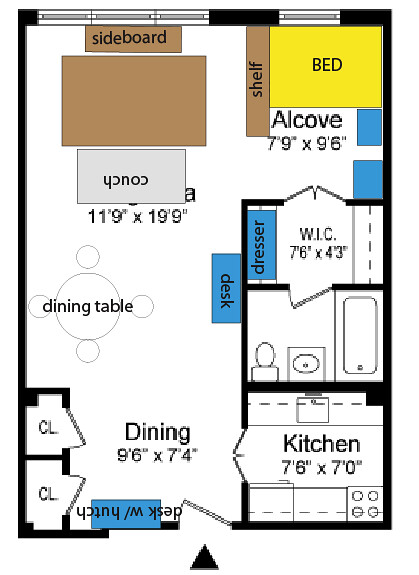 New Apartment Layout