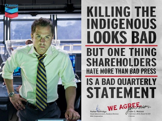 "Chevron & Parker Selfridge ""We Agree"" Ad"