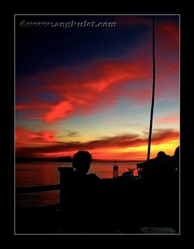 Sunset at Malapascua Island, Cebu