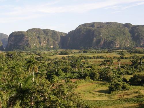 Vista del Valle de Viñales por copepodo.