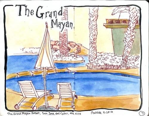 Pool at Grand Mayan
