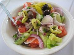 Cuke - Tom Salad in Athonos Market
