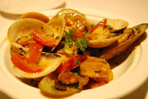 Clam & Mussel Casserole