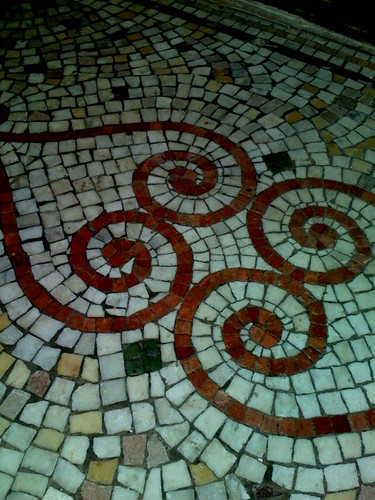 Upper Haight Doorway Floor