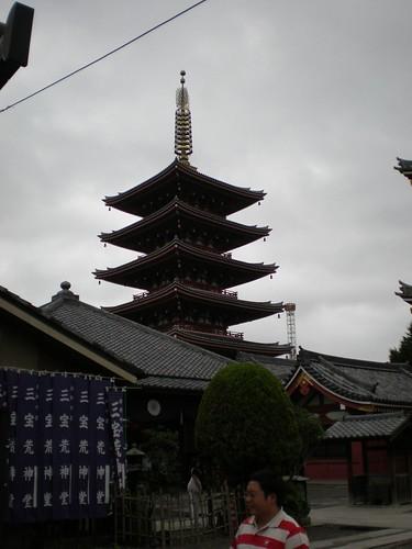 Pagoda Asakusa