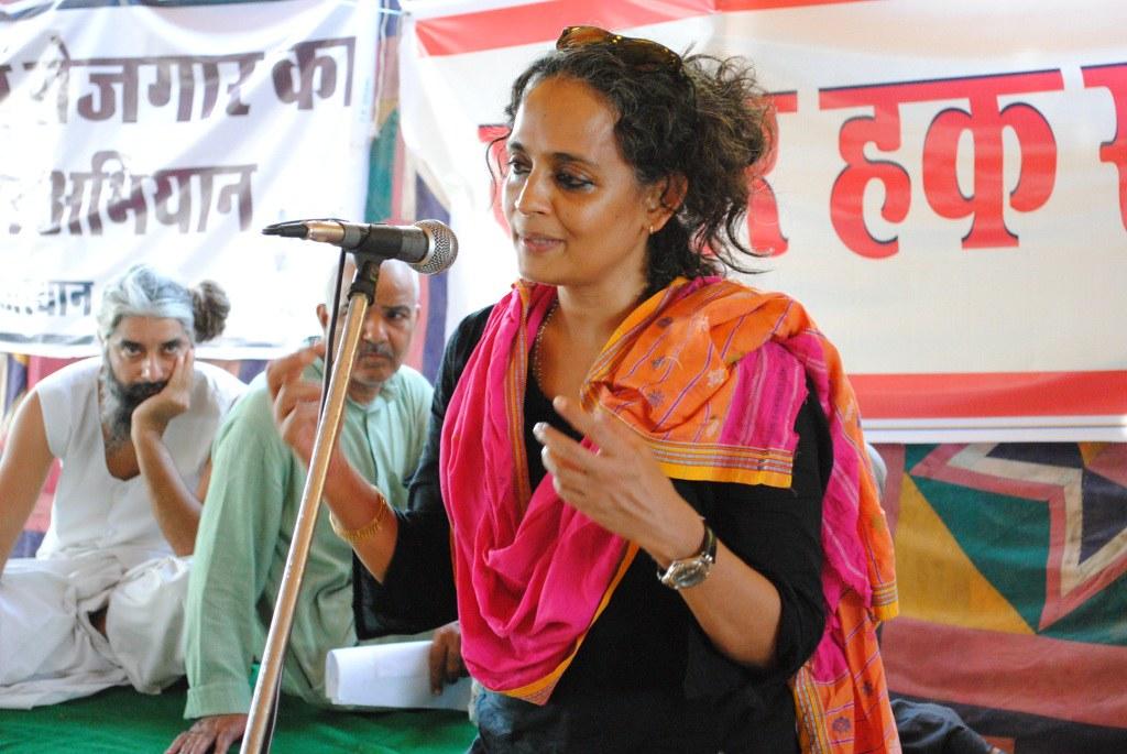 Pics from the satyagraha - 2 Oct 2010 - 24