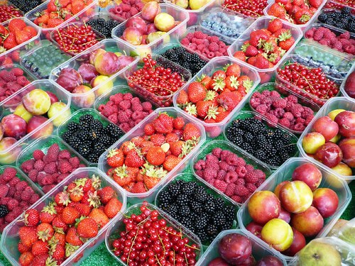 Berries at the Farmer's Market