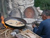 Roasting barley, Jingchen village, Ladakh