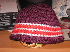 First crocheted hat!