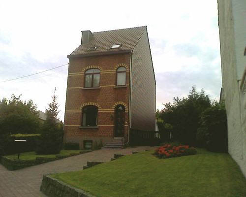 Odd house in Brussels
