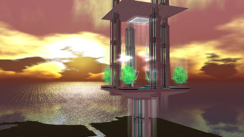Best of Second Life Tower; photographed by GM Nikolaidis