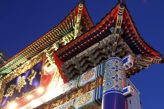 chinatown @ blue hour