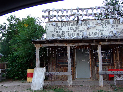 the long gone longhorn saloon