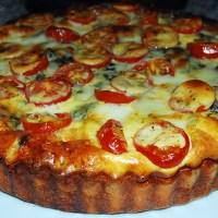 Recipe Of The Day: Stilton, Tomato and Courgette Quiche
