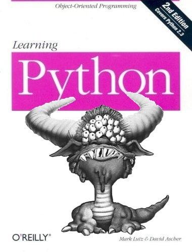 Learning (Monty) Python