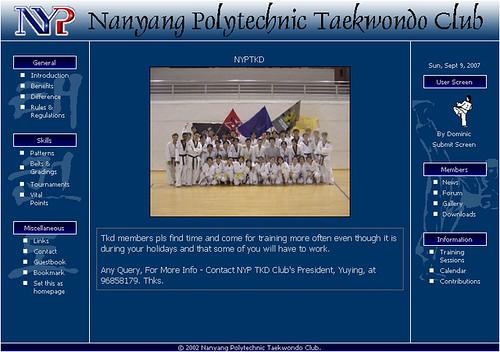 NYP Taekwondo Club