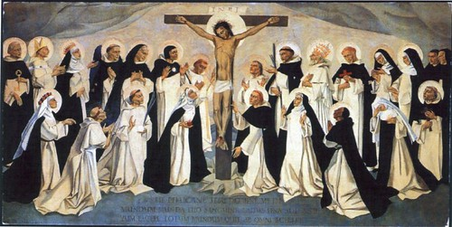 Our Crucified Lord with Dominican Saints