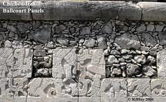 Chichen-Itza Ballcourt - Missing pieces