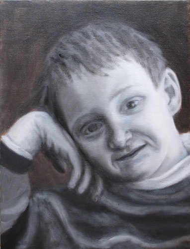 Francis-Grisaille underpainting done
