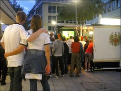 Fussball-WM Fans in Frankfurt - 07