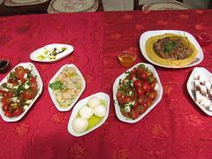 Food at the Druze B&B