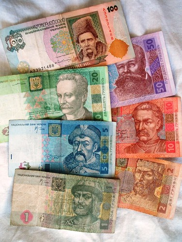 banknotes of ukraine
