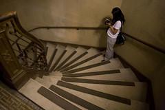 Stairway in Stanford's Memorial Church