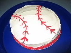 John's Baseball Cake